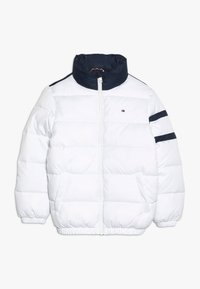 Tommy Hilfiger - PADDED COLOUR BLOCK PUFFER - Winter jacket - white - 1