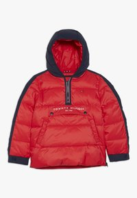 Tommy Hilfiger - MIXED POPOVER JACKET - Winterjas - red - 0