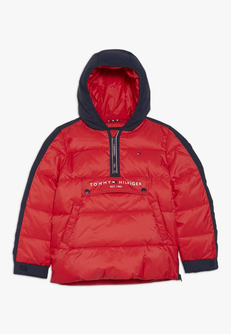 Tommy Hilfiger - MIXED POPOVER JACKET - Winterjacke - red