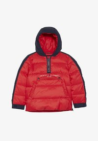 Tommy Hilfiger - MIXED POPOVER JACKET - Winterjas - red - 4