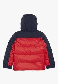 Tommy Hilfiger - MIXED POPOVER JACKET - Winterjas - red - 1