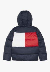 Tommy Hilfiger - PADDED FLAG JACKET - Zimní bunda - blue - 1