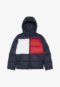Tommy Hilfiger - PADDED FLAG JACKET - Zimní bunda - blue - 4