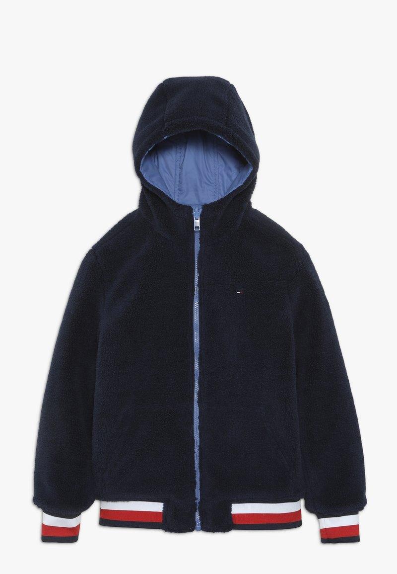 Tommy Hilfiger - REVERSIBLE JACKET - Zimní bunda - blue