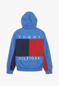 Tommy Hilfiger - REVERSIBLE COLOR BLOCK JACKET - Lehká bunda - blue - 1