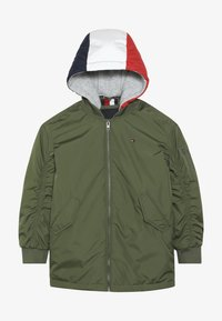 Tommy Hilfiger - HOODED FLIGHT - Cappotto invernale - green - 4