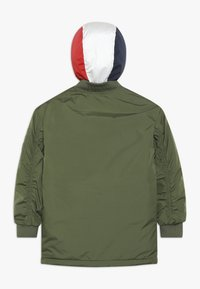 Tommy Hilfiger - HOODED FLIGHT - Cappotto invernale - green - 1