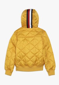 Tommy Hilfiger - REVERSIBLE QUILTED HOODED BOMBER - Jas - blue - 1
