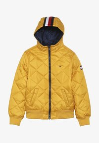 Tommy Hilfiger - REVERSIBLE QUILTED HOODED BOMBER - Jas - blue - 4