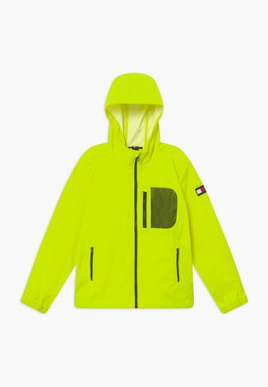 COMBI HOODED - Regnjakke - yellow