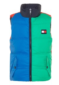 Tommy Hilfiger - COLORBLOCK REVERSIBLE VEST - Smanicato - blue - 2