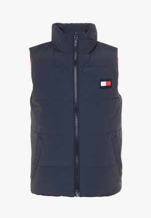 COLORBLOCK REVERSIBLE VEST - Smanicato - blue
