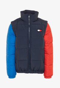 Tommy Hilfiger - ZIP OFF PADDED  - Giacca invernale - blue - 0