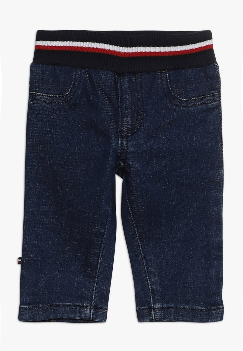 Tommy Hilfiger - BABY PANTS - Jeans Relaxed Fit - denim