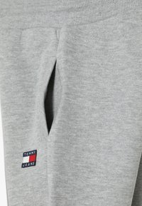 Tommy Hilfiger - UNISEX FLAG  - Verryttelyhousut - light grey heather - 3