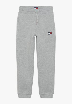 UNISEX FLAG  - Tracksuit bottoms - light grey heather