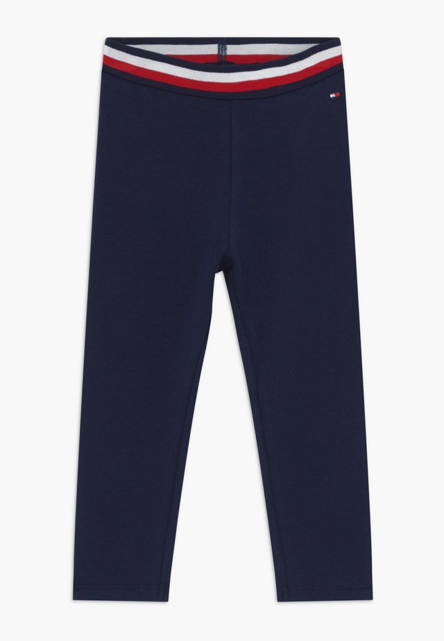 BABY SOLID - Leggings - Trousers - blue