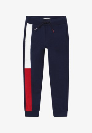 FLAG - Tracksuit bottoms - blue