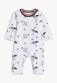 Tommy Hilfiger - BABY PRINTED COVERALL - Jumpsuit - white - 0