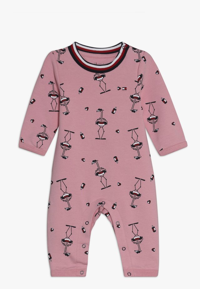 BABY PRINTED COVERALL - Jumpsuit - purple