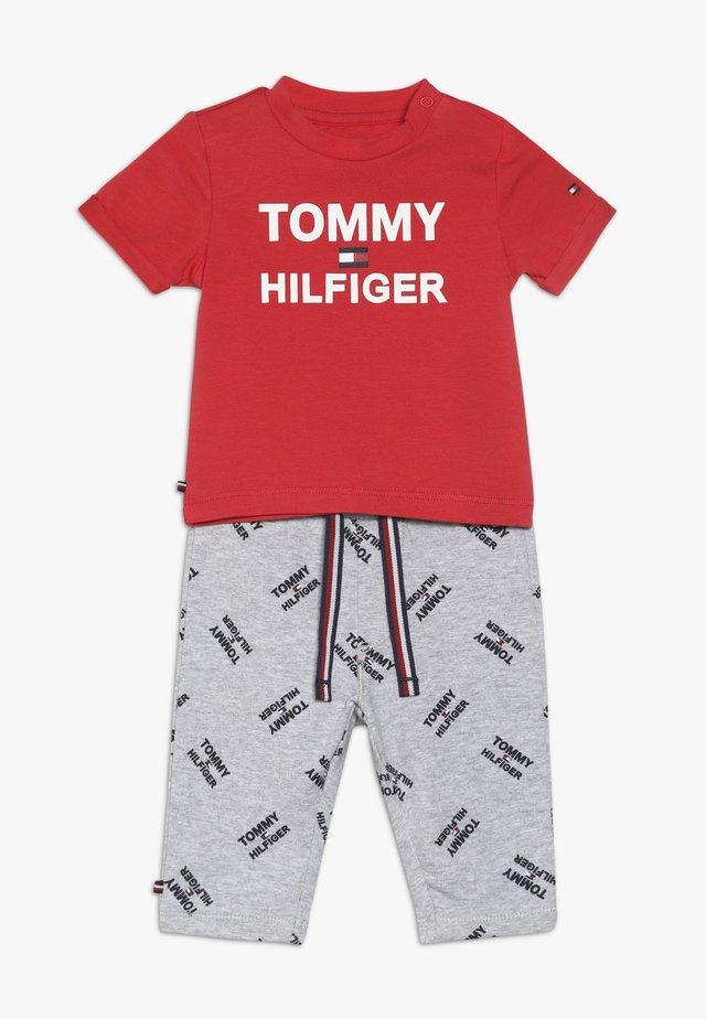 BABY PRINTED SET - Leggings - Trousers - grey