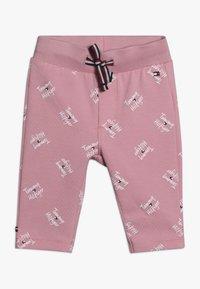 Tommy Hilfiger - BABY PRINTED SET - Legging - pink - 2