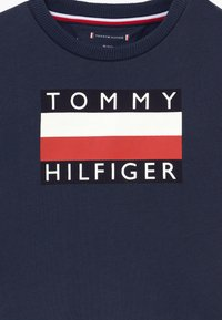 Tommy Hilfiger - BABY TRACKSUIT SET - Trainingspak - blue - 4