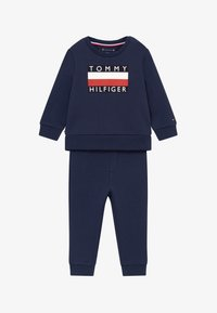 Tommy Hilfiger - BABY TRACKSUIT SET - Trainingspak - blue - 3
