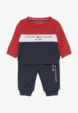 BABY COLOURBLOCK TRACKSUIT SET - Collegepaita - blue