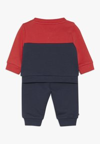 Tommy Hilfiger - BABY COLOURBLOCK TRACKSUIT SET - Sudadera - blue - 1