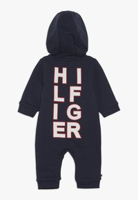 Tommy Hilfiger - BABY ZIP COVERALL - Body - blue - 1
