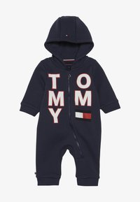 Tommy Hilfiger - BABY ZIP COVERALL - Body - blue - 2