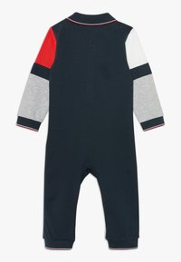 Tommy Hilfiger - BABY COLOURBLOCK COVERALL - Jumpsuit - grey - 1