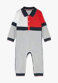Tommy Hilfiger - BABY COLOURBLOCK COVERALL - Jumpsuit - grey - 2