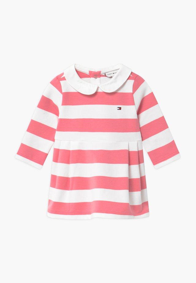 BABY RUGBY STRIPE - Hverdagskjoler - pink