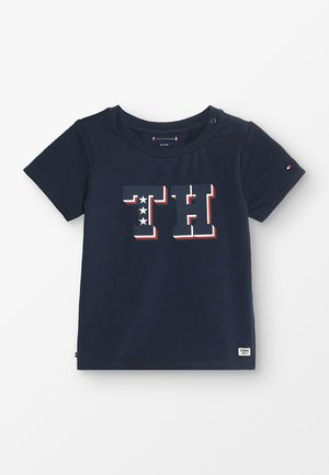 BABY BOY TEE - Camiseta estampada - black iris