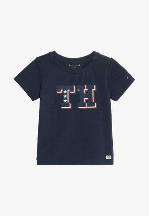 BABY BOY TEE - T-shirt con stampa - black iris