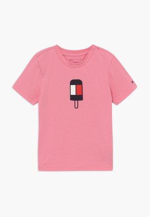 BABY FLAMINGO - Triko spotiskem - pink