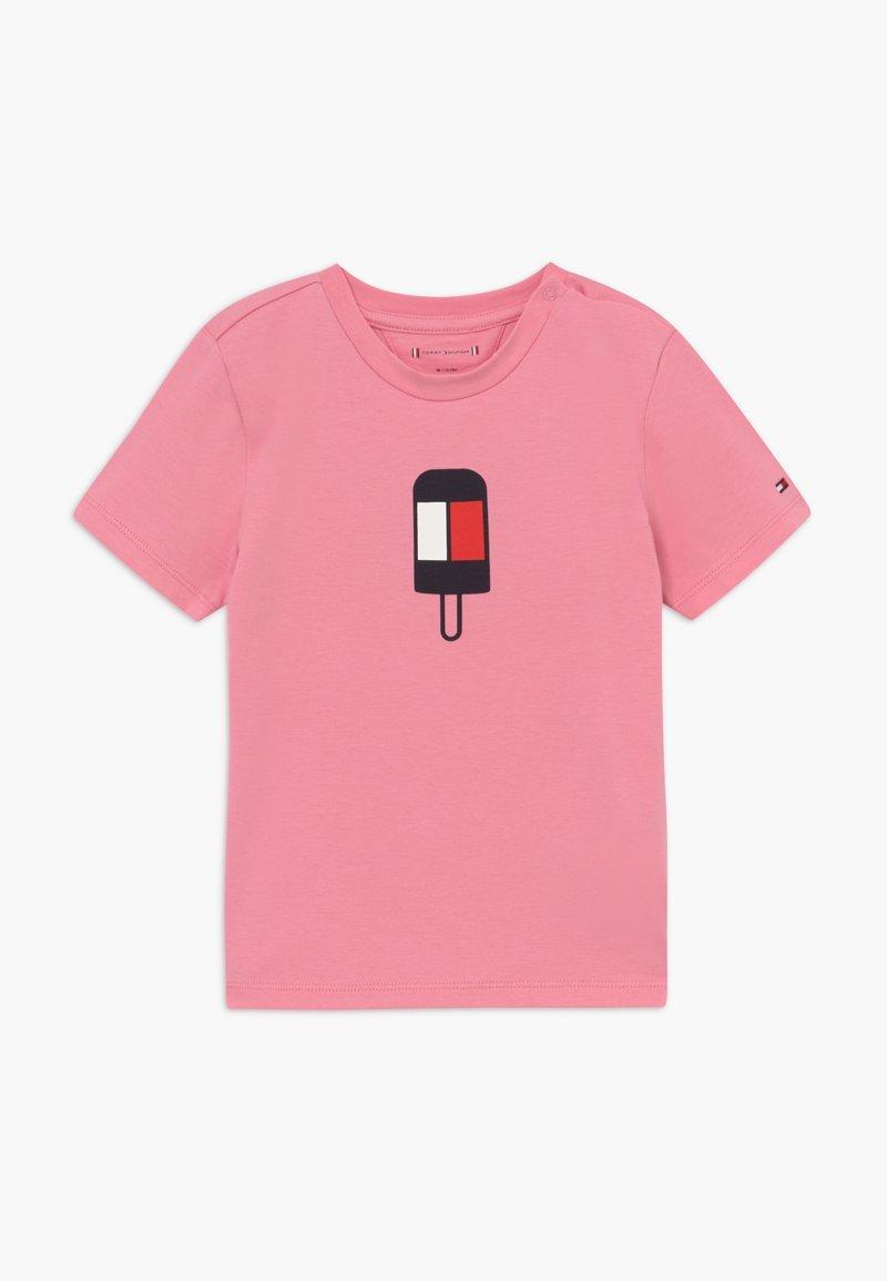 Tommy Hilfiger - BABY FLAMINGO - Camiseta estampada - pink