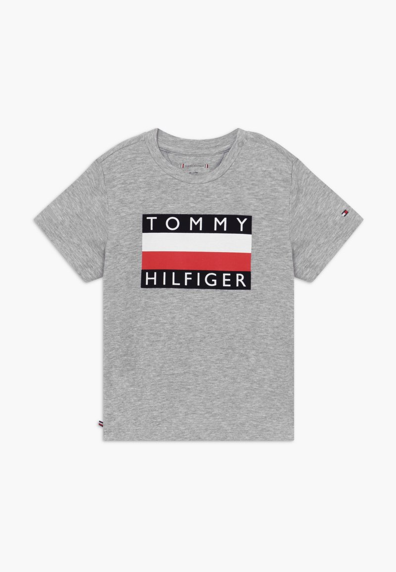 Tommy Hilfiger - BABY FLAG  - Printtipaita - grey