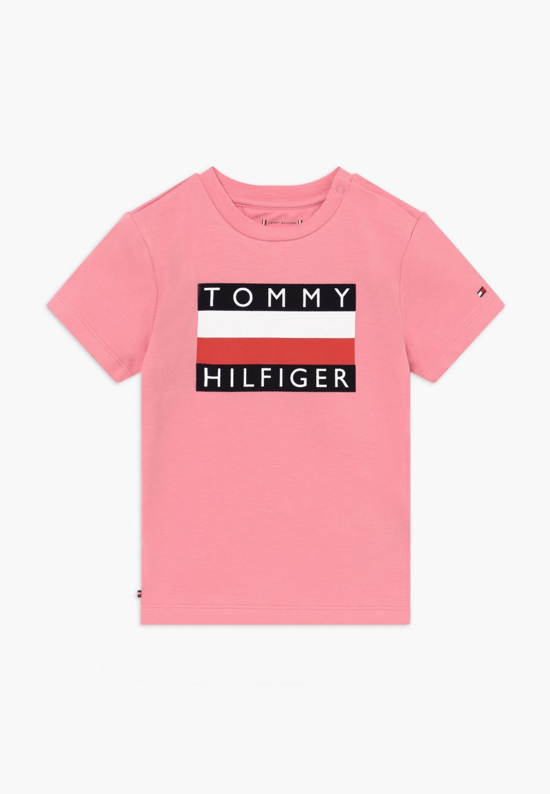 Tommy Hilfiger - BABY FLAG  - Printtipaita - pink