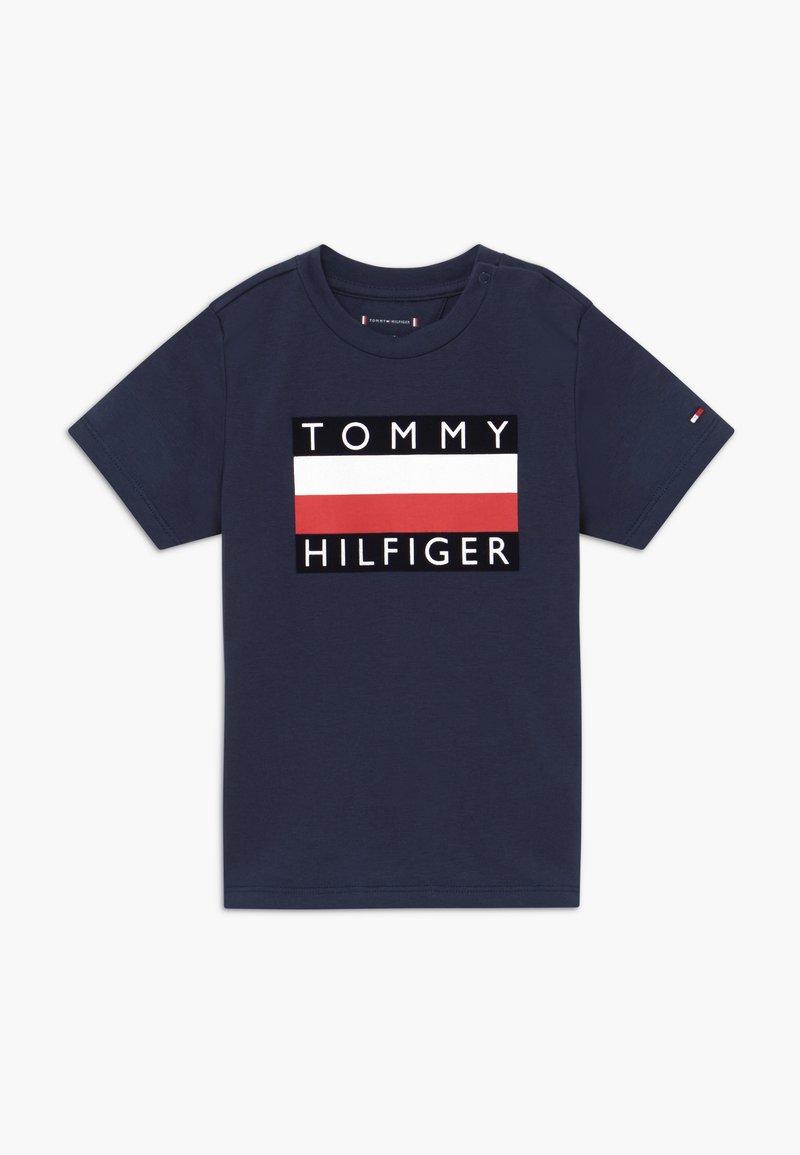 Tommy Hilfiger - BABY FLAG  - Triko spotiskem - blue
