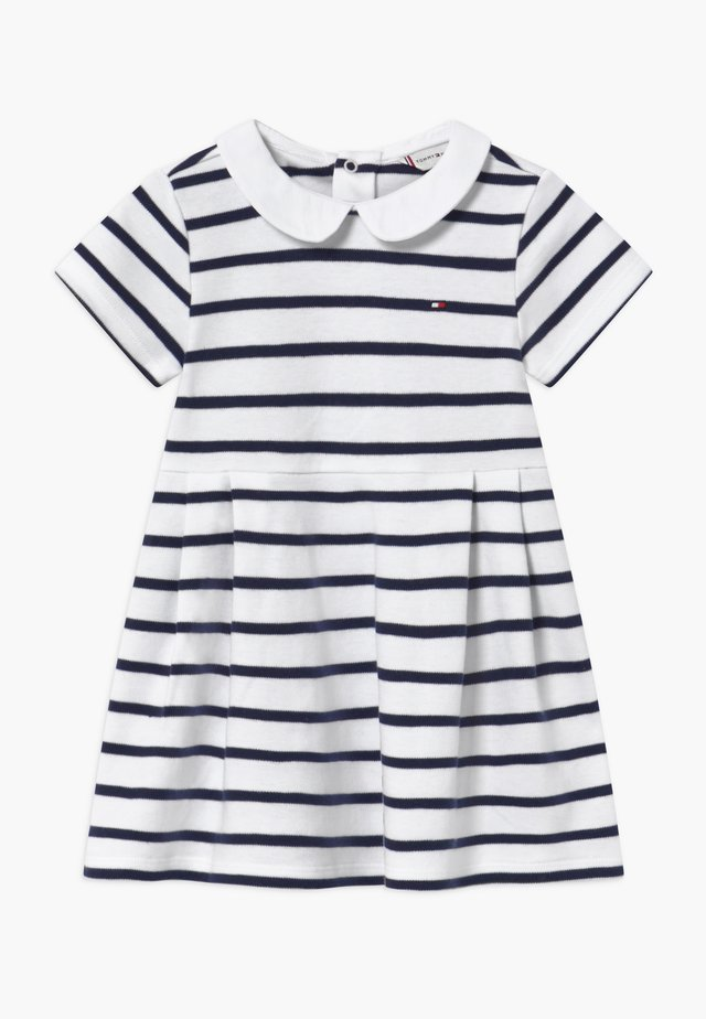 BABY GIRL RUGBY - Jersey dress - blue