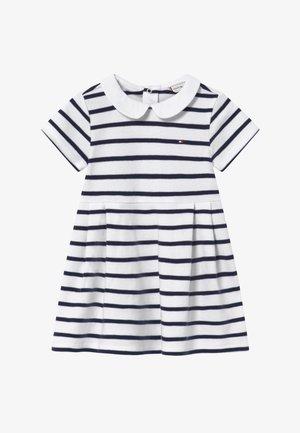 BABY GIRL RUGBY - Žerzejové šaty - blue