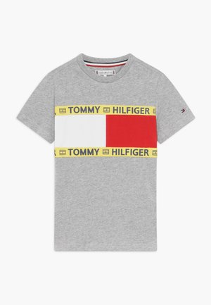 FLAG - Print T-shirt - grey