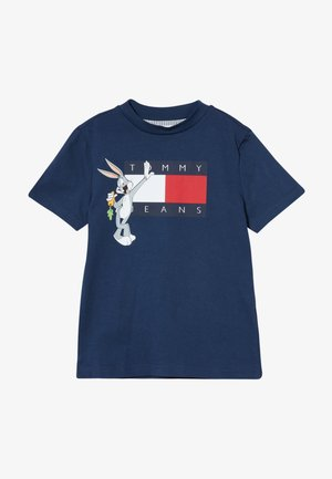 LOONEY TUNES TEE - Print T-shirt - blue