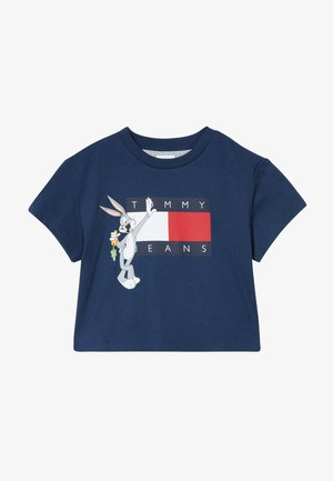 LOONEY TUNES TEE - T-shirt imprimé - blue