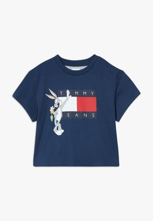 LOONEY TUNES TEE - T-shirt print - blue