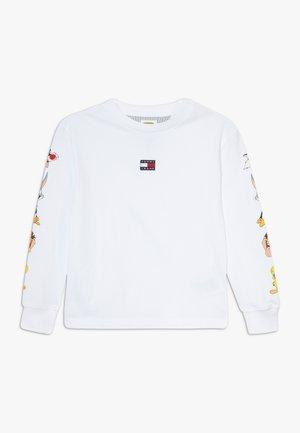 LOONEY TUNES LONGSLEEVE - Long sleeved top - white