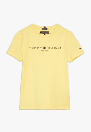 ESSENTIAL TEE - T-shirt med print - yellow